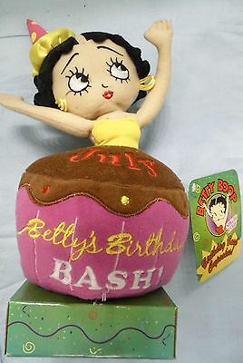 Betty Boop Birthday Bash Cupcake Plush Doll for July - New with Tag  -Sugar Loaf