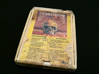Devastator Australian 8 Track Tape Cartridge Ac/dc Acdc Flash And The Pan