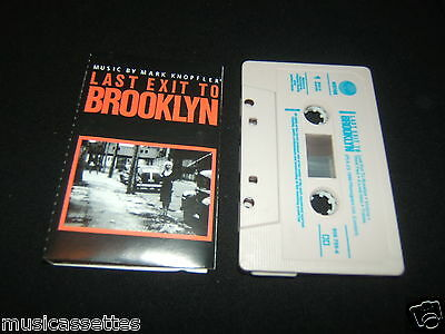 Mark Knopfler Last Exit To Brooklyn Soundtrack Australian Cassette Tape