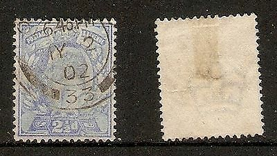 GREAT BRITAIN  - 1902 - 2½d Blue King Edward (SG 231) - Fine used