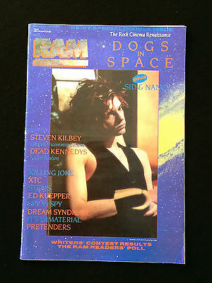 Ram Australian Music Magazine Dogs In Space Michael Hutchence Sid & Nancy 1987