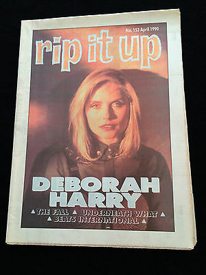 Rip It Up Magazine New Zealand Deborah Harry The Fall Underneath What 1990
