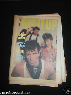 Rip It Up Magazine New Zealand R.e.m. Rem Frankie Goes To Hollywood 1986 No. 113