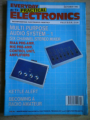 Everyday With Practical Electronics October 1993