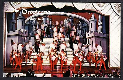 LAS VEGAS HOTEL TROPICANA SHOW GIRLS PINUP GIRLS Postcard (8395x)