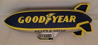 vintage inflatable goodyear blimp tires football mancave garage