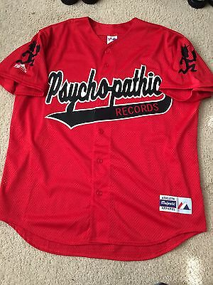 XL Psychopathic Records Baseball Jersey ICP Insane Clown Posse Twiztid GOTJ
