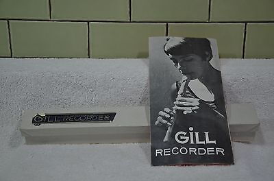 VINTAGE Gill Recorder- EXCELLENT CONDITION