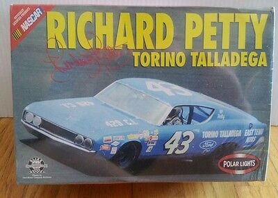 Polar Lights 1:25 Richard Petty Torino Talladega Sealed Model Kit