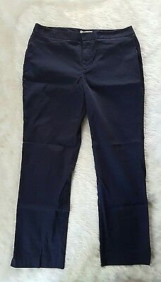 Coldwater Creek Women's Natural Fit Blue Size 12 Casual Pant M31