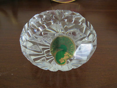 Genuine Waterford Crystal - Made In Ireland - Paperweight - Stunning