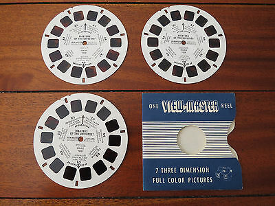 "1983 - 3 Viewmaster Reels -  ""masters Of The Universe"" No. 1036.."