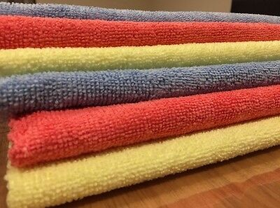 144 Microfibre Cloth Towel Car Window Home Cleaning 40X30 BULK BUY