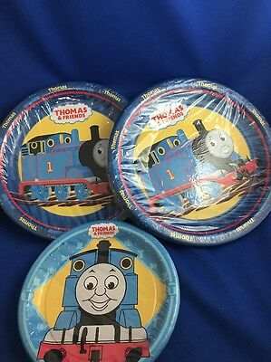 Thomas and Friends Large Paper Plates 3 Packs Thomas The Tank Birthday Plates