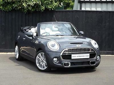 2017 MINI Convertible Cooper S Convertible Petrol grey Manual