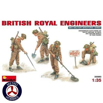Miniart 1/35 British Royal Engineers 35083 Brand New