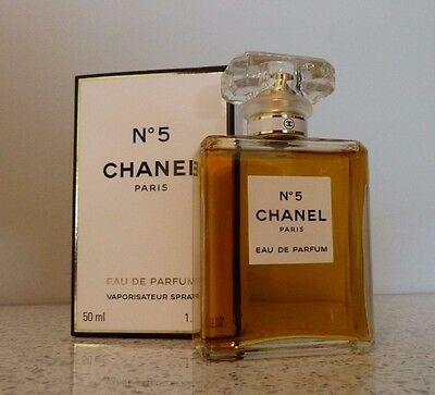 CHANEL Paris No 5 EAU DE PARFUM Spray 50ml Perfume