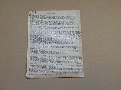 3 Page Typed 1860 Letter from Young Man on Ship journey from England to Aust