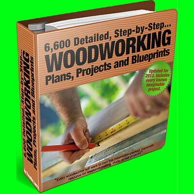 7,500 ULTIMATE Woodworking / Carpentry Plans, Tools & Projects ~~