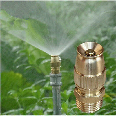 Adjustable Brass Nozzle Sprinkler Atomization Cooling Automatic Sprinklers Head