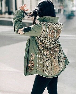 Spell And The Gypsy Designs Collective Panther Jacket Size S