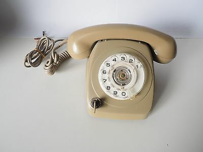 Old Fashioned Grey Rotary Telephone - Needs Adaptor - North Ryde. Collectors!