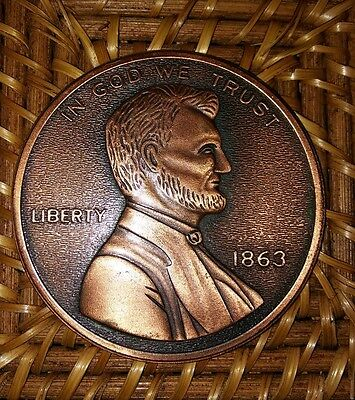 Large Novelty Penny Coin