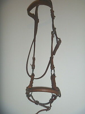 Billy Royal Leather Horse Side Pull