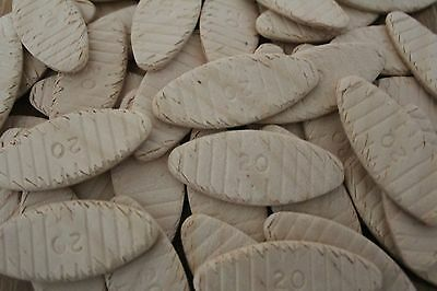 Wood Joiner Biscuits - Size 20 - Pack of 50 Biscuits - Free Postage!