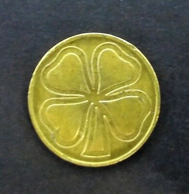 The Lucky Four-Leaf Clover Token