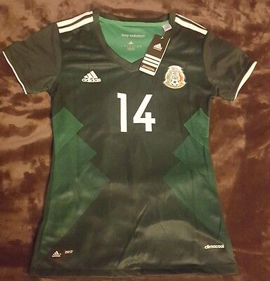 New Mexico Women Home Jersey 2017/18 chicharito #14 jersey de mujer
