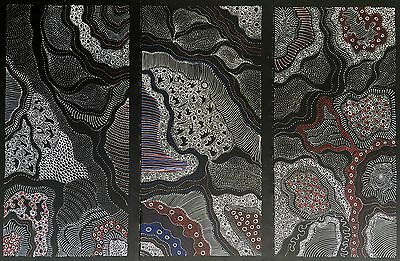 'FREDA PRICE PITJARA, Authentic Aboriginal art .Daughter of Anna Price Petyarre.