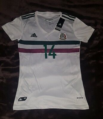 New Mexico Women away Jersey 2017/18 chicharito #14 jersey de mujer