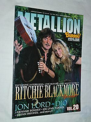 METALLION Japan magazine book 2005 Vol.20 ! BLACKMORE DIO Rainbow Deep Purple