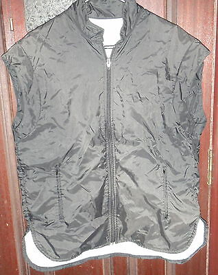 Adidas Zip Up Vest Nylon Cotton Size M