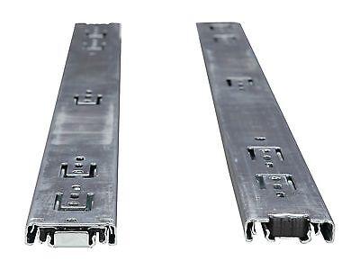 """20"""" Sliding Rail Kit - 3 Section, Ball Bearing, Supports from 2U to 5U chassis"""