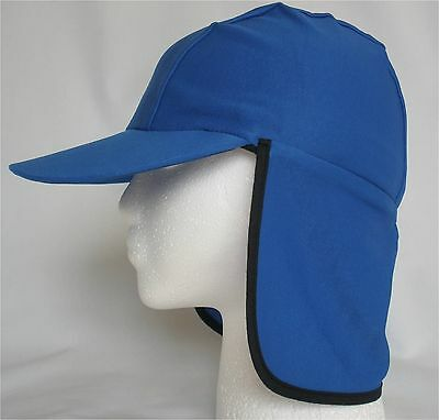 Sun and Swim Hat for Boys and Girls - Legionnaire Cap with Neck Flap NWT