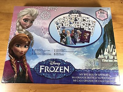 My Big Box Of Stickers Disney Frozen 3350 Stickers New Set Elsa Olaf Anna Sven