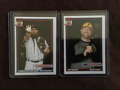 PEARL JAM Boston Fenway Park SEAN CASEY Chicago Wrigley Field Rob Skinner Cards