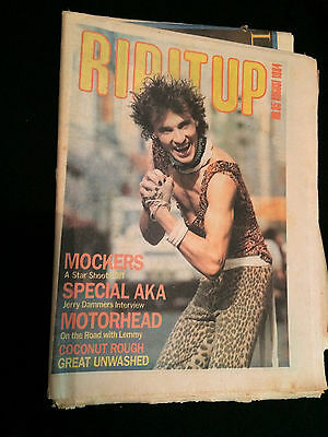 Rip It Up Magazine New Zealand Motorhead Special Aka The Specials 1984