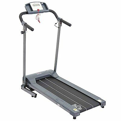 HOMCOM - Tapis roulant elettrico con display LED home trainer da 500W