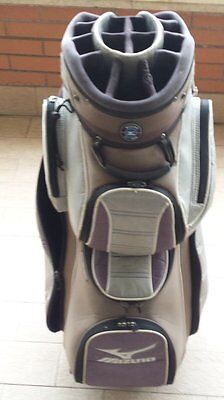 Sacca Da Golf Mizuno Speedster Ii Cart Bag Silver/black