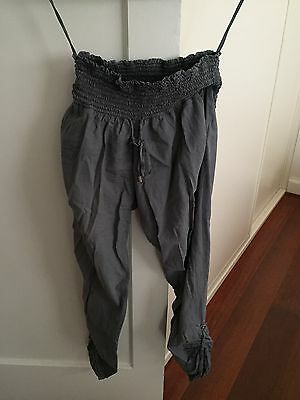 RIPE Maternity Philly Cotton Pants Size s