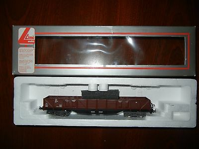Lima Model Electric Train Uncovered Wagon HO gauge