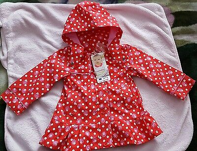 imperméable Orchestra 23m 2ans fille neuf !