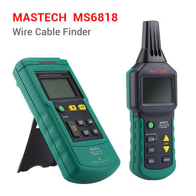 MASTECH MS6818 Wire Tracker Cable Metal Pipe Locator DetectorTester MuteFunction