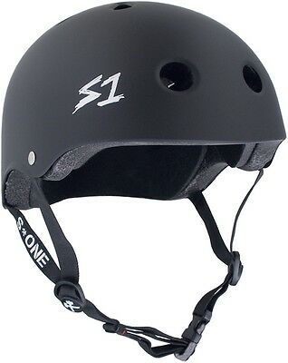 S One - Mega Lifer Helmet Black Matte
