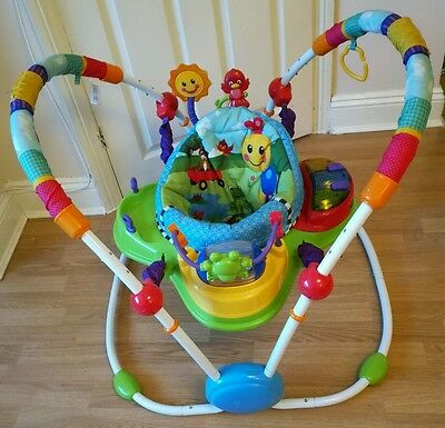 baby einstein neighbourhood friends activity jumper jumperoo centre musical