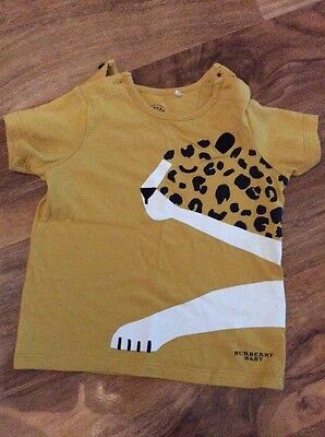 Burberry baby top size 12 months