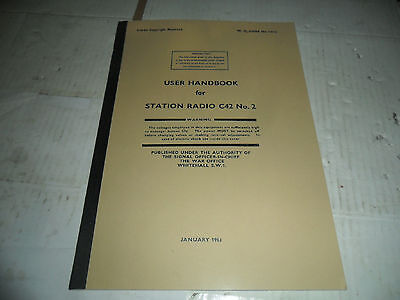 User Handbook C42 Radio No 2